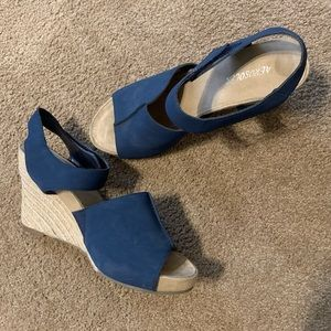 Navy Aerosoles- sandals, really comfortable!